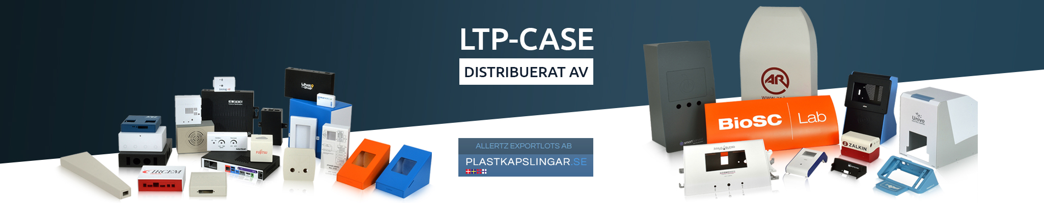 LTP Case plast sheet with fräsning groove